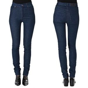 NEW Cheap Monday High Rise Second Skin Jeans 27x34